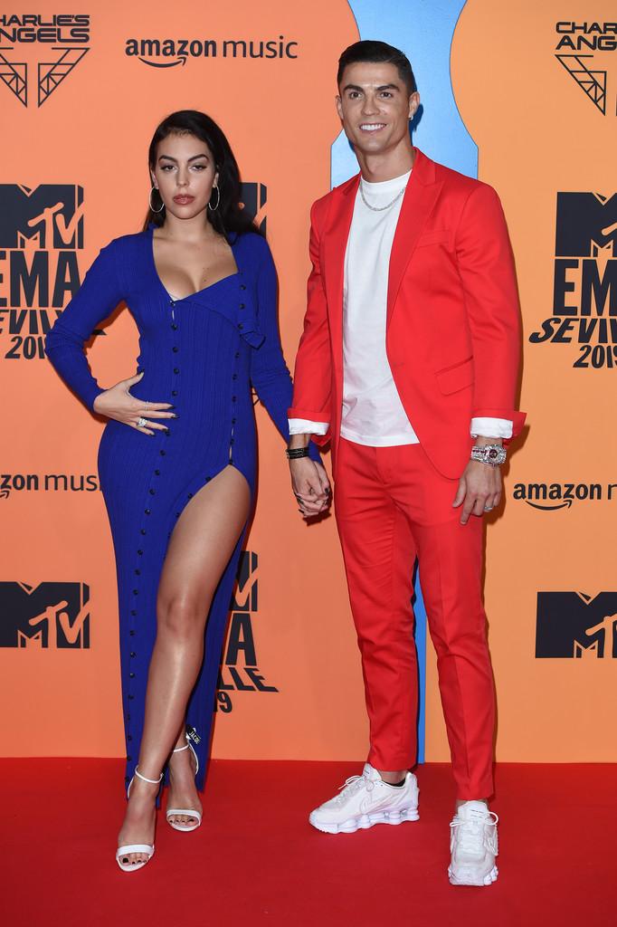 Georgina Rodriguez And Cristiano Ronaldo Killer Fashion