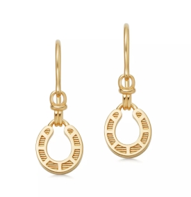 Links of London Ascot Horseshoe Earrings, €130 http://bit.ly/2KYlD1Z