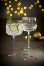 Next Albany Embossed Gin Glasses Set of 2, €21 http://bit.ly/2XFAdAL