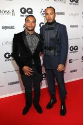 Nicolas & Lewis Hamilton