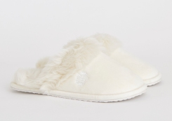 Paul Costelloe Living Faux Fur Slippers, €20 http://bit.ly/2quxHRL