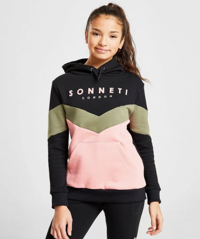 Sonneti Girls' Frankie Panel Hoodie Junior, €25 http://bit.ly/2s68qgW
