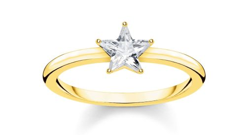 Thomas Sabo Magic Stars Gold Sparkling Star Ring, €69 http://bit.ly/2NWQEW6