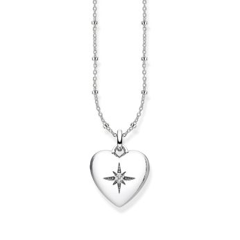 Thomas Sabo Magic Stars Silver Heart Locket Necklace, €179 http://bit.ly/2XnSdzt