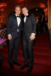 Toni Kroos and Felix Kroos