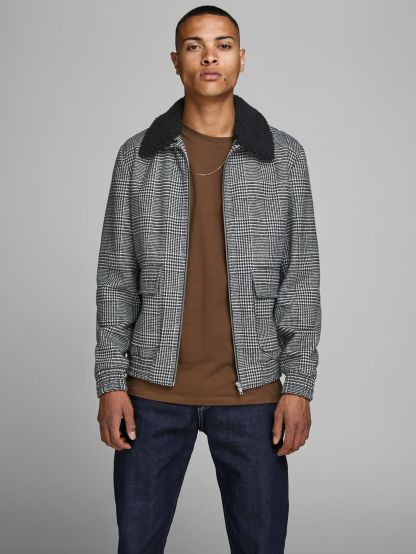 Jack & Jones Checked Wool Jacket, €89.99 http://bit.ly/34tFixX
