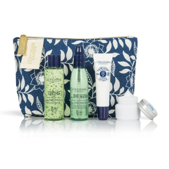L'Occitane en Provence Soothing Skincare Gift Set, €22