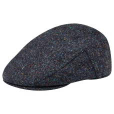 Magee 1866 Navy Salt & Pepper Donegal Tweed Flat Cap, €59 http://bit.ly/2s7jURA