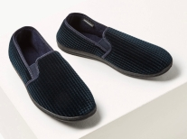Marks & Spencer Corduroy Slippers with Freshfeet, €25 http://bit.ly/2RTeMeA