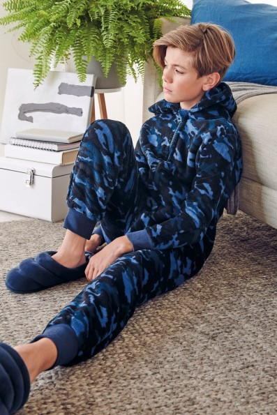 Next Blue Camo All-In-One, €22-35 http://bit.ly/2sqSPJg