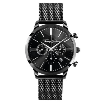 Thomas Sabo Black Rebel Spirit Chrono Watch, €349 http://bit.ly/38hkpZY
