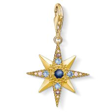 Thomas Sabo Royalty Star Gemstones in 18k Yellow Gold, €69 http://bit.ly/2OKGwQr