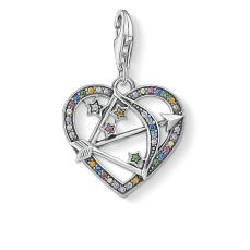 Thomas Sabo Silver & Multicoloured Pavé Cupid's Arrow, €79 http://bit.ly/35Vgu2J