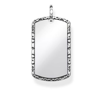 Thomas Sabo Engravable Dog Tag Pendant, €139 http://bit.ly/2PeOuAF