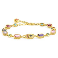 Thomas Sabo Large Lucky Charms Gold Bracelet, €398 http://bit.ly/34KlAyE