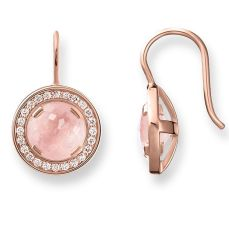 Thomas Sabo Light of Luna Earrings in 18k Rose Gold, €179 http://bit.ly/33M0kau