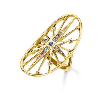 Thomas Sabo Royalty Star Gold Ring, €198 http://bit.ly/381rNrW