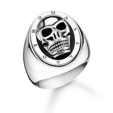 Thomas Sabo Skull Ring, €259 http://bit.ly/2quBcYo