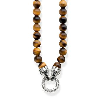 Thomas Sabo Tiger's Eye Beaded Necklace, €239 http://bit.ly/386AUHQ