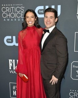 Chloe Bridges and Adam DeVine