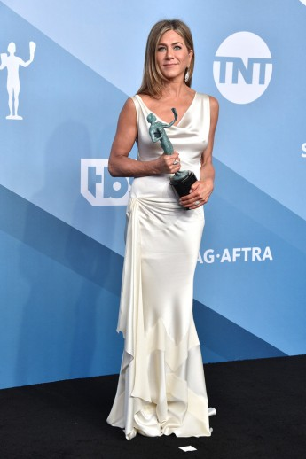 Jennifer Aniston, recipient for Outstanding Performance by a Female Actor in a Drama Series for 'The Morning Show'