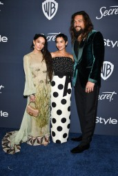 Lisa Bonnet, Zoë Kravitz and Jason Mamoa