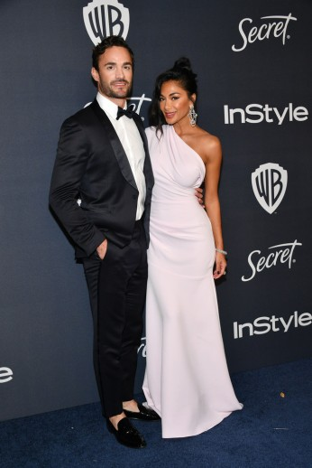 Thom Evans and Nicole Scherzinger