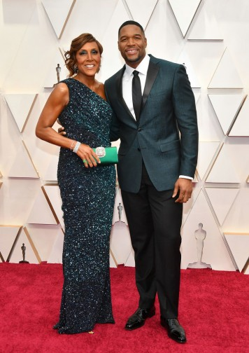 Robin Roberts and Michael Strahan