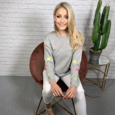 Coco Boutique Daisy Cashmere Blend Star Jumper, €79 https://bit.ly/3aHY5Zq