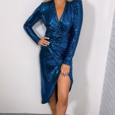 Coco Boutique Lauren Metallic Midi Dress, €45 https://bit.ly/2YbqOTB