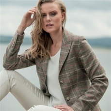 Magee 1866 Light Green Lily Country Check Tweed Jacket, €385 https://bit.ly/35bCw2d
