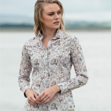 Magee 1866 Pink Tracy Kew Road Tana Lawn Liberty Print Tailored Fit Shirt, €139 https://bit.ly/2KF7JkP