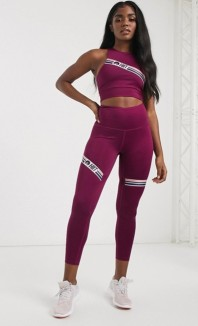 HIIT Leggings Raspberry Stripe, €34.56