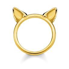 Thomas Sabo Gold Cat Ears Ring, €79 https://bit.ly/3ih1Rhg