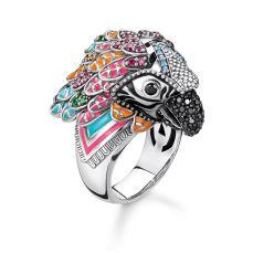 Thomas Sabo Parrot Ring, €398 https://bit.ly/3dTLP9E
