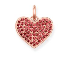 Thomas Sabo Rosegold Red Pavé Heart Charm, €89 (WAS €129) https://bit.ly/3ePCvVN