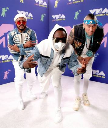 Apl.de.ap, Will.I.Am and Taboo of Black Eyed Peas