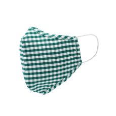Savile Row Company Green Gingham Cotton Face Mask, €11 https://bit.ly/2Z6MArB