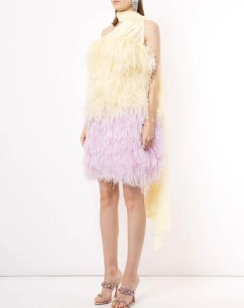 16Arlington Ombré Feather Mini Dress, €10,865 https://bit.ly/3gV9jNj