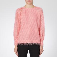 Day Birger et Mikkelsen Day Palm Feathered Blouse, €260 https://bit.ly/2F0HdmP
