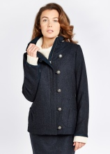Dubarry of Ireland Bracken Tweed Coat, €479 https://bit.ly/3bivxHE
