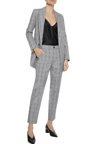 Iris & Ink Ash Checked Woven Suit: Blazer, €70 (was €205) https://bit.ly/31ZtBB7 Trousers, €40 (was €128) https://bit.ly/2Z33FTg