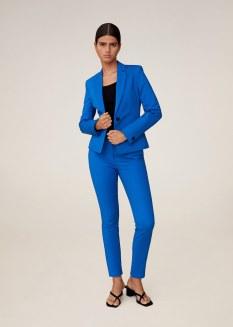 Mango Essential Structured Suit: Blazer, €39.99 https://bit.ly/31UbvQL Trousers, €29.99 https://bit.ly/3lFL35c