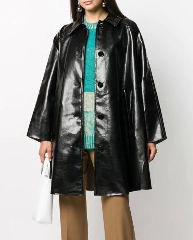 MM6 Maison Margiela Oversized Coat, €1,050 https://bit.ly/2Z20FpT