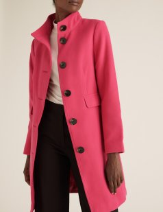 M&S Collection Funnel Neck Coat, €82 https://bit.ly/34YNPgc