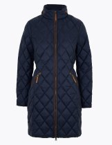 M&S Feather & Down Quilted Puffer Coat, €140 https://bit.ly/34Z915M