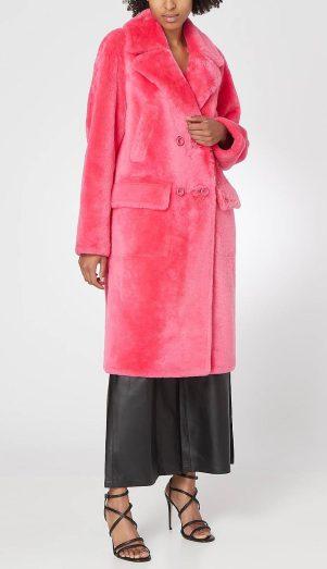 Yves Soloman Merino Faux Fur Coat, €3,098.66 https://bit.ly/2QNybMe