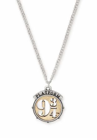 Weir & Sons ALEX AND ANI Harry Potter Platform 9¾ Two-Tone Charm Necklace, €44 https://bit.ly/2Ga3Yp1