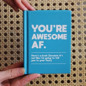 "April and the Bear ""You're Awesome AF"" Book, €9 https://bit.ly/2HB7hGx"