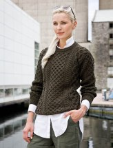 Aran Sweater Market Heavyweight Merino Wool Aran Sweater, €75.83 (was €101.96) https://bit.ly/35ASNy8